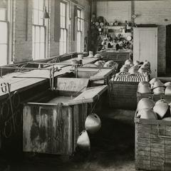 The C. M. Hall Company factory interior