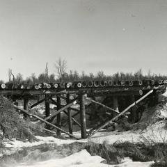 Fire lane bridge