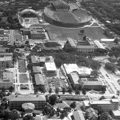 Aerial UW-Madison, 1954