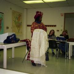 Presenting on fabrics