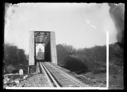 R. R. bridge. Babcock, Wis.