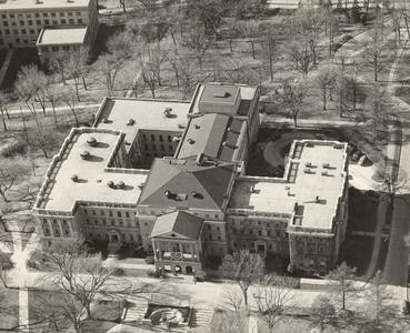 Aeriel view of Bascom Hall