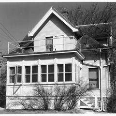 Practice cottage, rear view