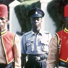 The Gambian National Guardsmen