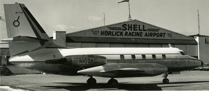 Plane at Horlick-Racine Airport