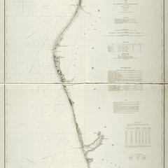 Lake Michigan coast chart no. 8. Muskegon to Ludington