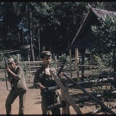 Phetsarath trip : two of Phetsarath's bodyguards