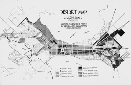 Downtown Madison map