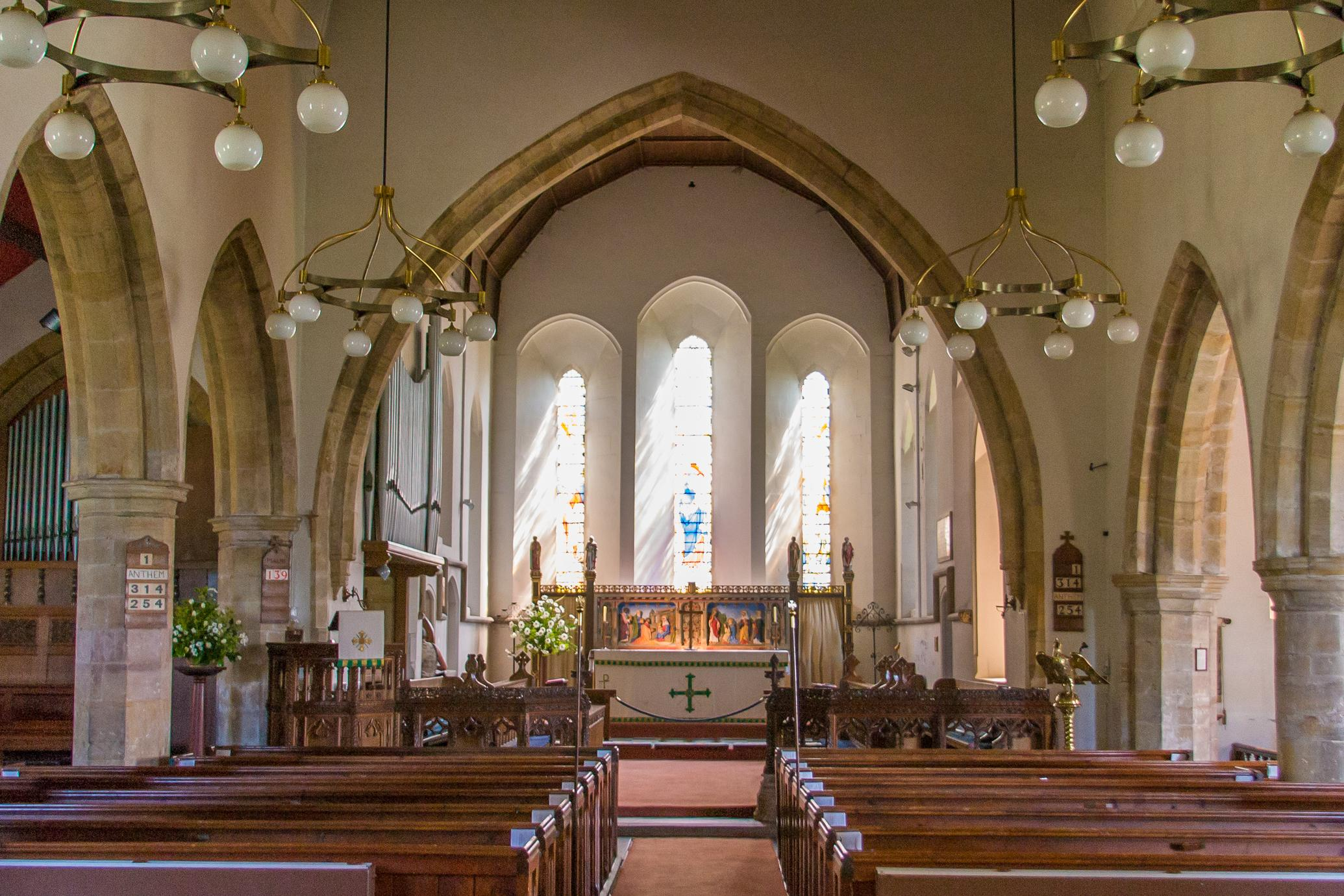 Burwash St Bartholomews interior