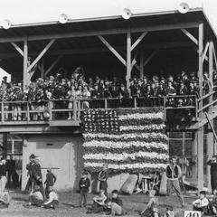 Schmeeckle Field grandstand