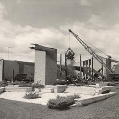 After the fire, Manitowoc, Fall 1965