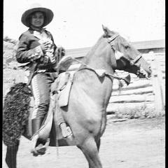 Dorothy Brown, 1st prize Frontier day