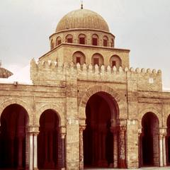 Exterior of Grand Mosque in Kairouan
