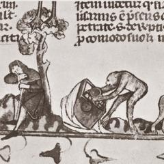 14th Century Decretals Detail