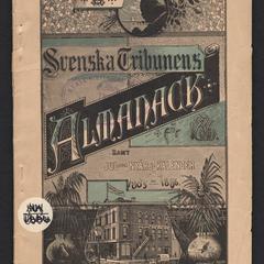 Svenska Tribunens Almanack samt jul-och nyårs-kalender för 1885-1886