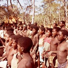 Group of Child Recruits in the Popular Resistance Movement for the Liberation of Angola