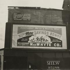 MacWhyte World War II billboard