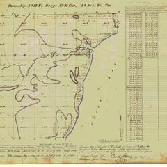 [Public Land Survey System map: Wisconsin Township 27 North, Range 21 East]
