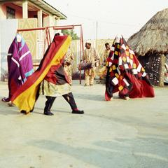Use of cloth in masquerades