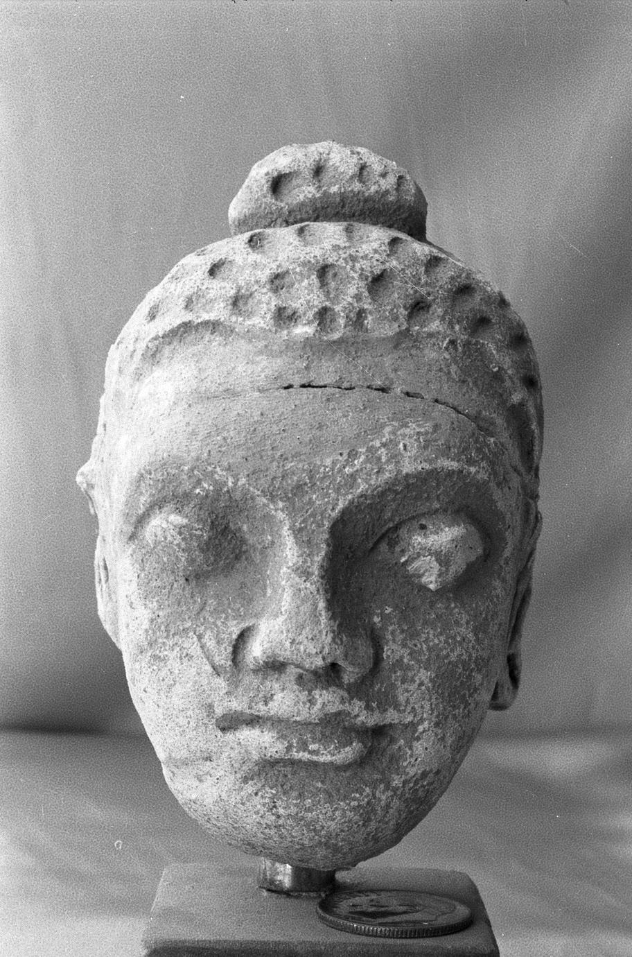NG347, Stucco Buddha Head (1 of 3)