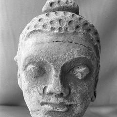 NG347, Stucco Buddha Head