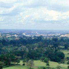 View of Yaounde from Mont Febe