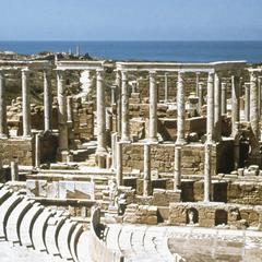 The Amphitheater at Leptis Magna