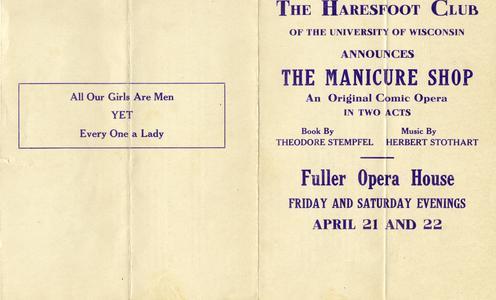 Haresfoot 'The Manicure Shop' program