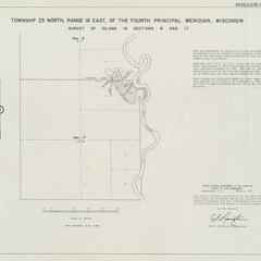 [Public Land Survey System map: Wisconsin Township 23 North, Range 16 East]
