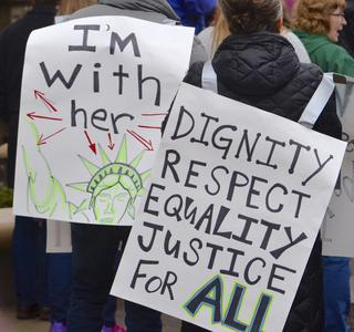 Dignity, Respect, Equality, Justice For All