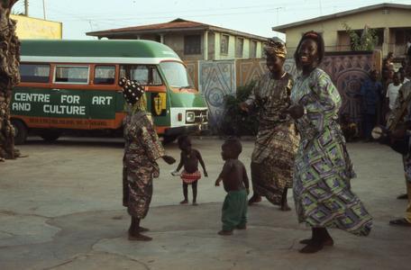 Children at masquerade