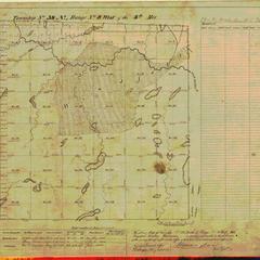[Public Land Survey System map: Wisconsin Township 38 North, Range 08 West]