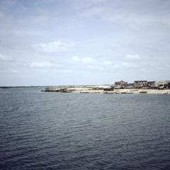 Port Harcourt beach and buildings
