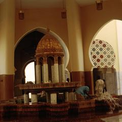Interior of Mosque at Touba