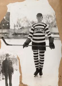 Hockey player Carl Pederson