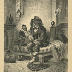 [Monkey Musician Print]