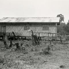 Student dormitory in the village of Lassasine in Attapu Province