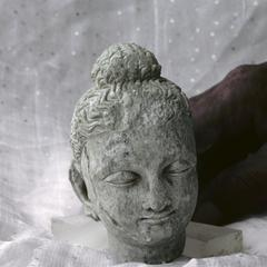 NG300, Stucco Head of the Buddha