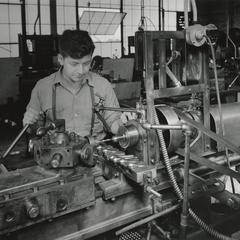MacWhyte factory employee at work