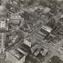 Madison aerial view