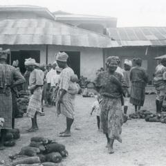 Yams at Ijebu-Jesa market