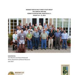 [Proceedings of the Midwest Deer and Wild Turkey Study Group Annual Meeting, 2014]