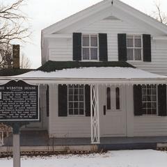 Webster House in winter