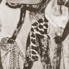 Egyptian Mural Scene