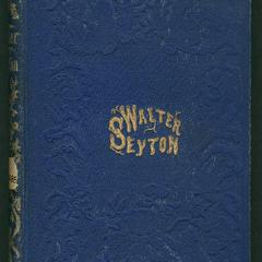 Walter Seyton : a story of rural life in Virginia