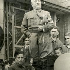 Unknown Nazi officer