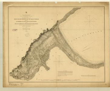 Preliminary chart of the west end of Fond du Lac of Lake Superior embracing Superior, St. Louis and Allouez Bays and the St. Louis River to the head of navigation