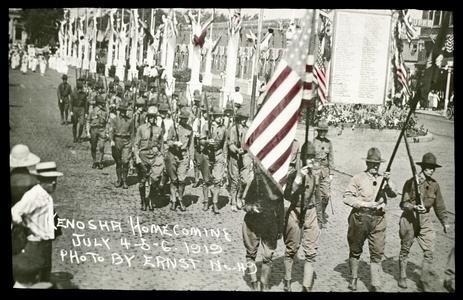 Victory Way Home Guard - homecoming
