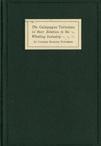 The Galapagos tortoises in their relation to the whaling industry
