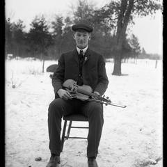 Man with a violin